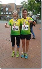 Bild: links Rosi Klug, rechts Jenny Lemke